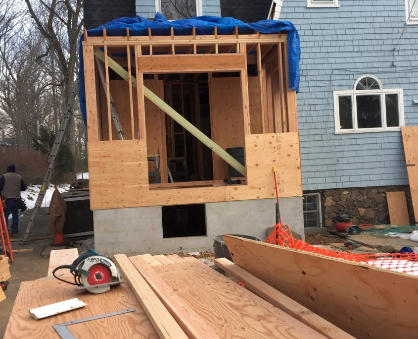 Kitchen addition and alteration in montclair